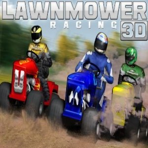 Lawnmower Racing 3D