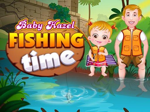 Baby Hazel Fishing Time