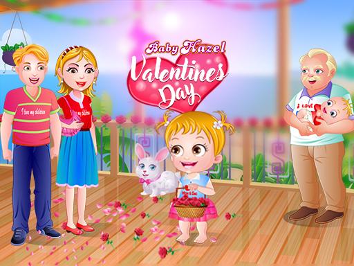 Baby Hazel Valentine's Day