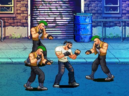 Beat Em Up Street fight 2D