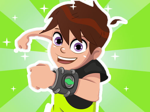Ben 10 Hill Car Racing Alien Boy