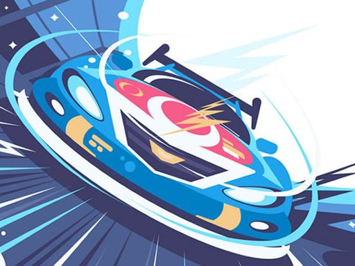 Fast Racing Car Hidden