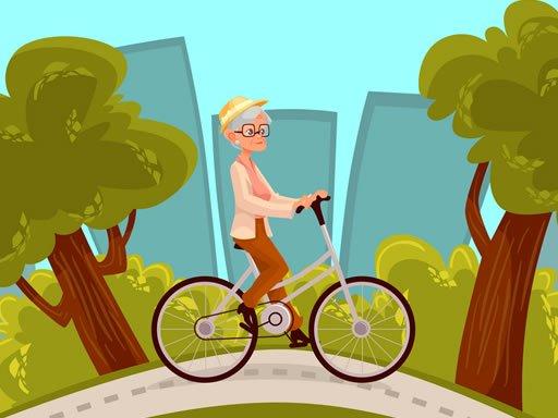 Happy Bike Riding Jigsaw
