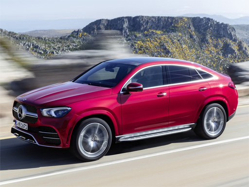 Mercedes-Benz GLE Coupe Slide
