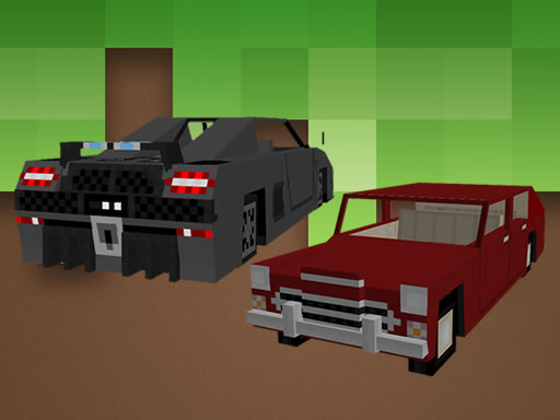 Minecraft Cars Jigsaw