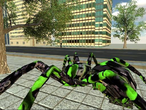 Spider Robot Transformation